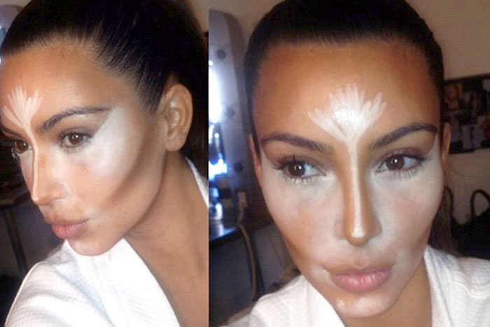 Lessons in Contouring from Kim K's Makeup Teacher - Preen