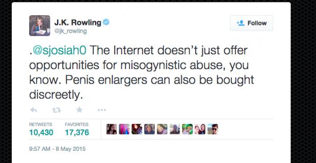J.K. Rowling Preen