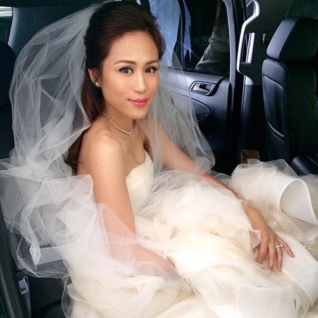 Toni gonzaga white dress