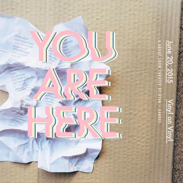 You Are Here Vinyl on Vinyl Everywhere We Shoot! Preen