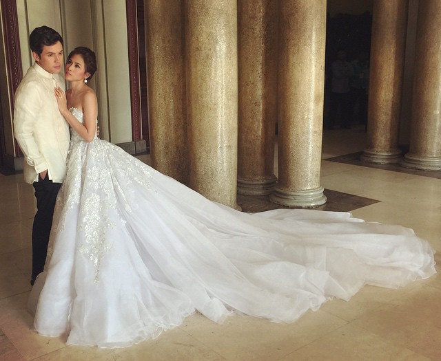 All the Instagram Photos People Took at the #PaulTin Wedding - Preen