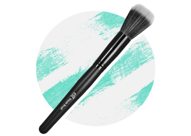 elf stippling brush preen