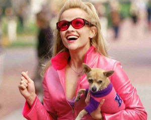 elle woods reese witherspoon leqally blonde 3 preen