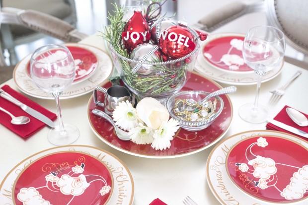 1 Dining Table Christmas Decor Preen