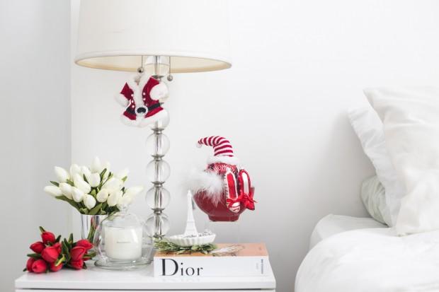 4 Bedside Table Christmas Decor Preen