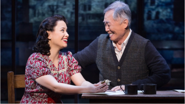 Lea Salonga and veteran actor George Takei