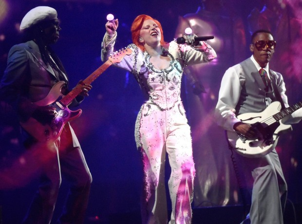 Nile Rodgers Defends Lady Gaga's David Bowie Tribute at the Grammys