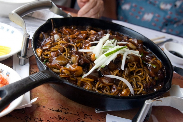 If youre single do as the koreans do eat black bean noodles preen black day black bean noodles preen forumfinder Image collections