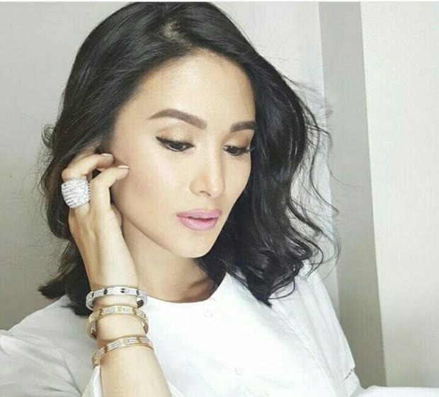 Heart Evangelista's Makeup Artist Is So Over Structured Eyebrows