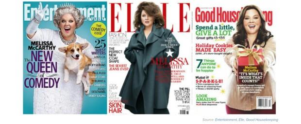 magazines melissa mccarthy