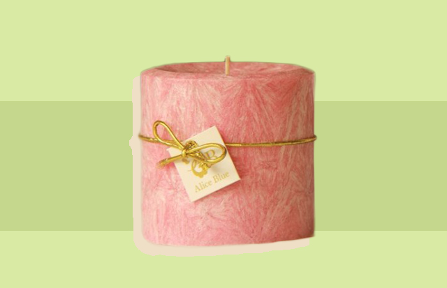 Alice blue berry crumble candle preen