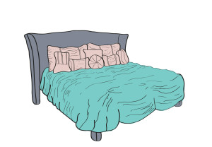 tips for a comfier bed preen