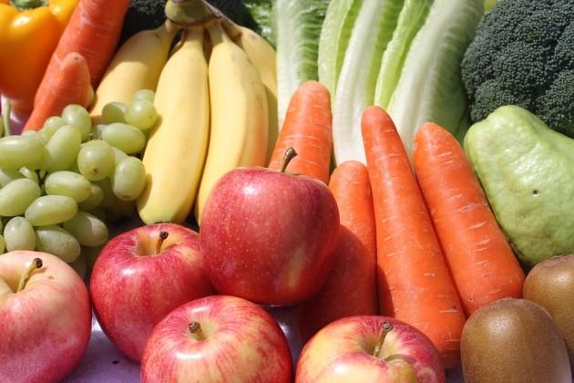 vegetables fruits happy study preen