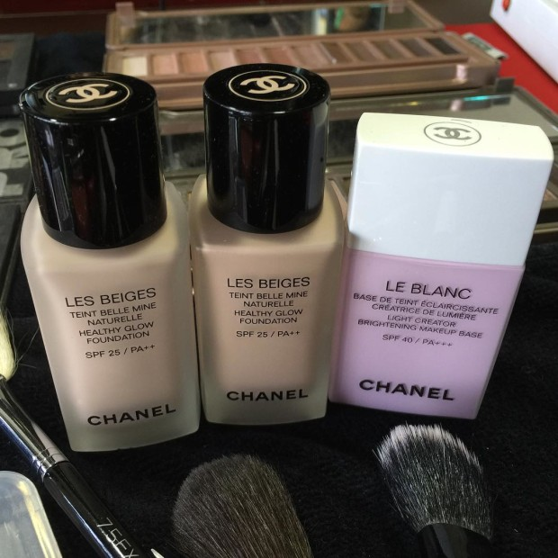 Jigs' go-to Chanel foundations