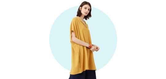 Side slit blouse, P2,295, Mango