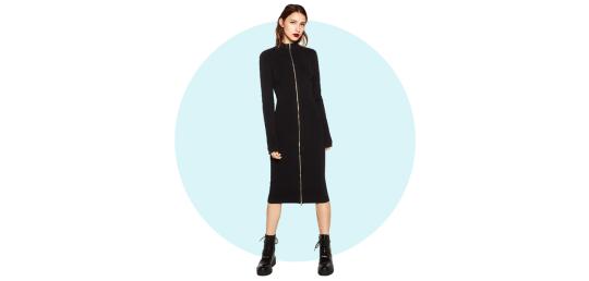 Zipped dress, Zara