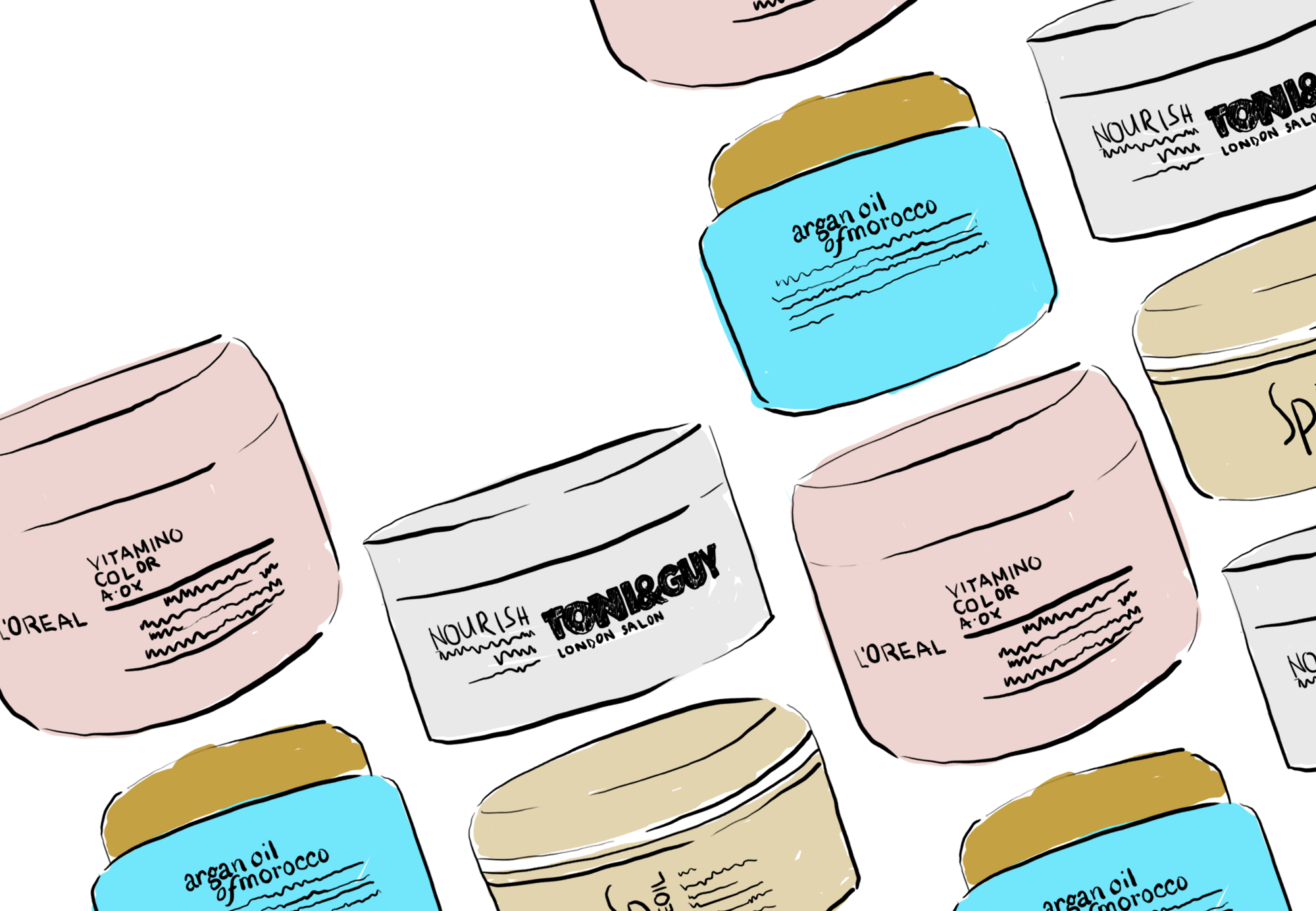 hair masks preen