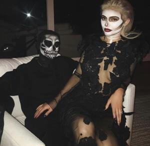 kylie jenner tyga halloween 2016