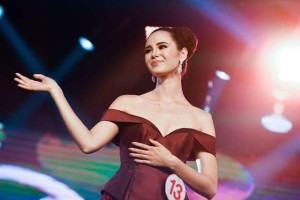 catriona gray at the miss world philippines 2016 pageant