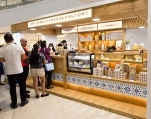 tokyo milk cheese factory in sm megamall philippines