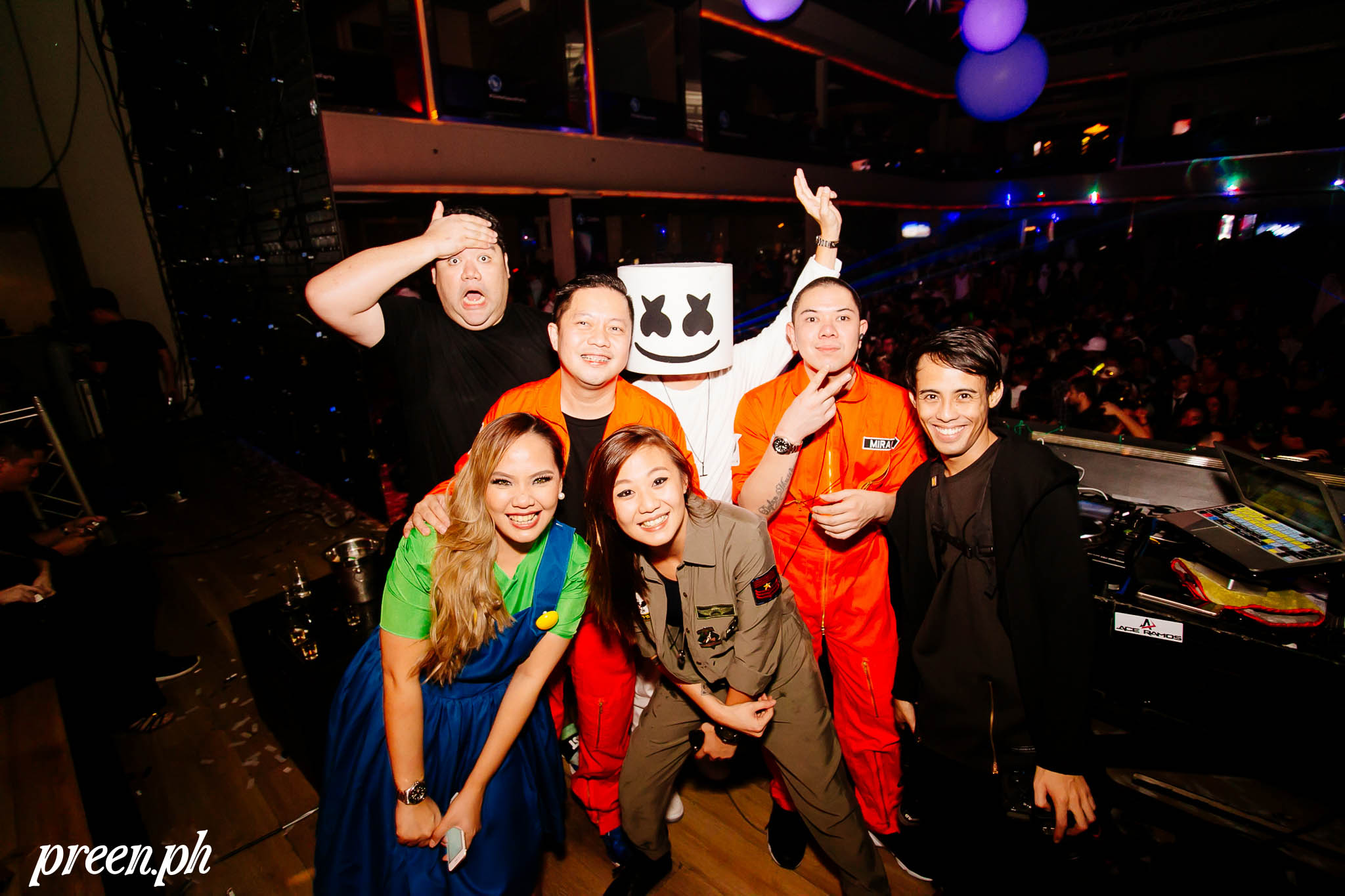 Spot the Who's Who at Viber Universe: The Halloween Ball - Preen