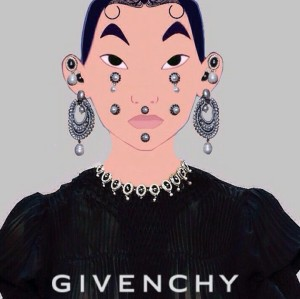 mulan disney givenchy