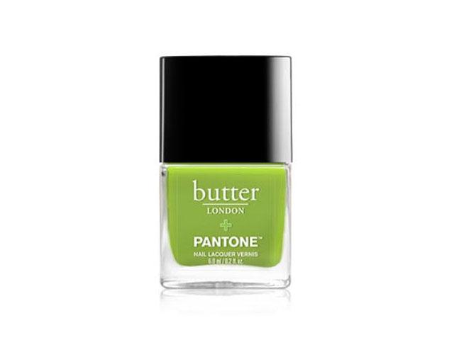 butter london pantone nail polish greenery