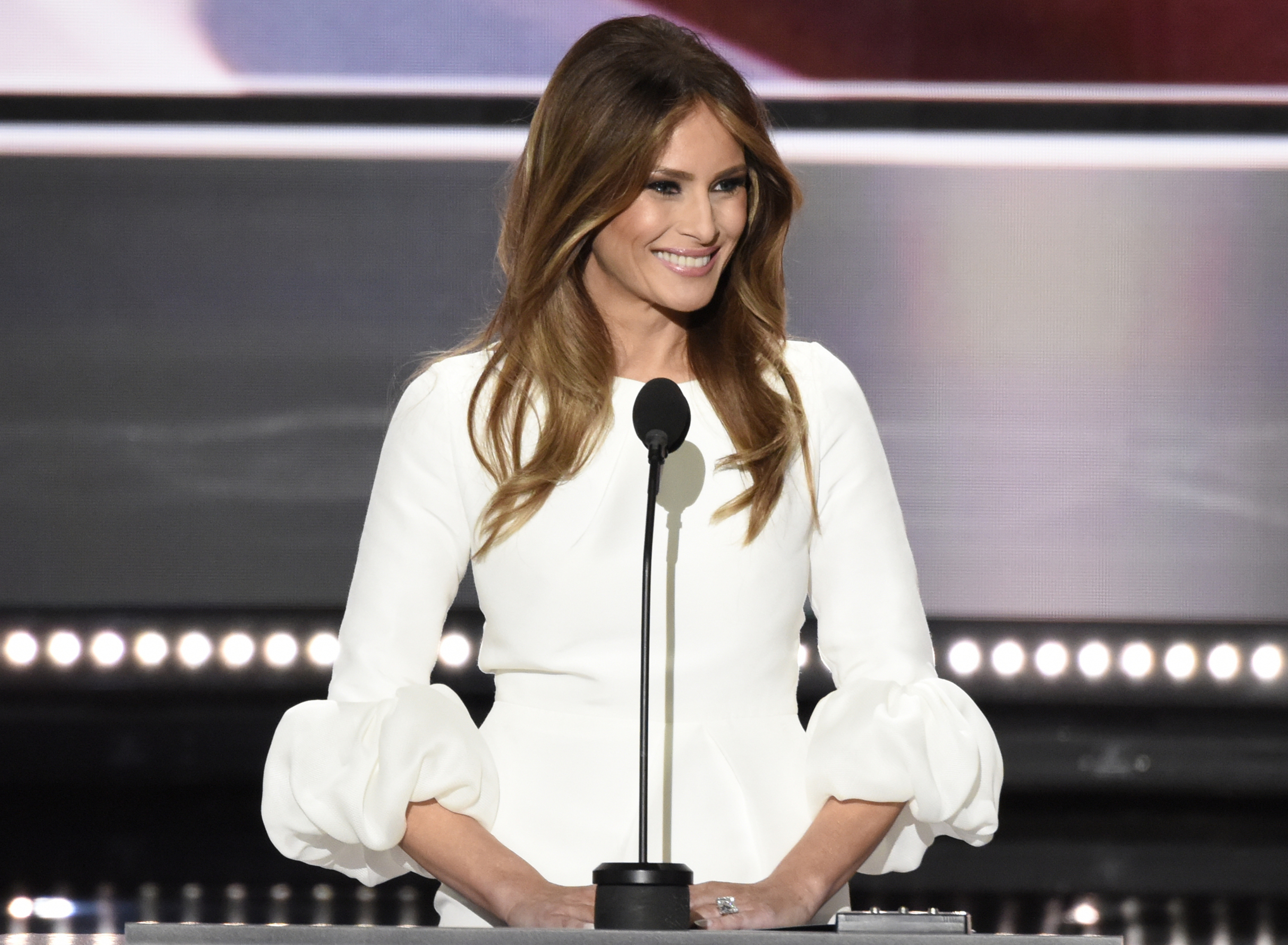 Who Is Dressing Melania Trump for the Inauguration?