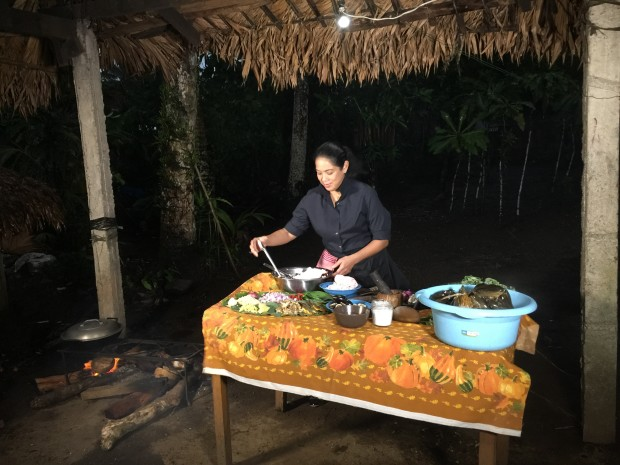 Behind the scenes of Margaritas cooking session in Bicol