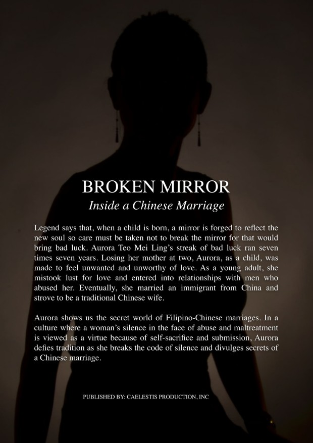 'Broken Mirror's plot summary courtesy of Perspectives, Inc.