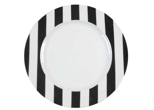 swirl dinner plate