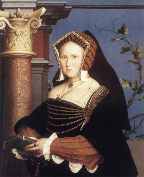 'Lady Guildeford' by Hans  Holbein