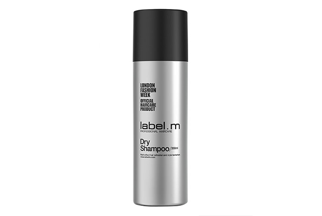 label dry shampoo