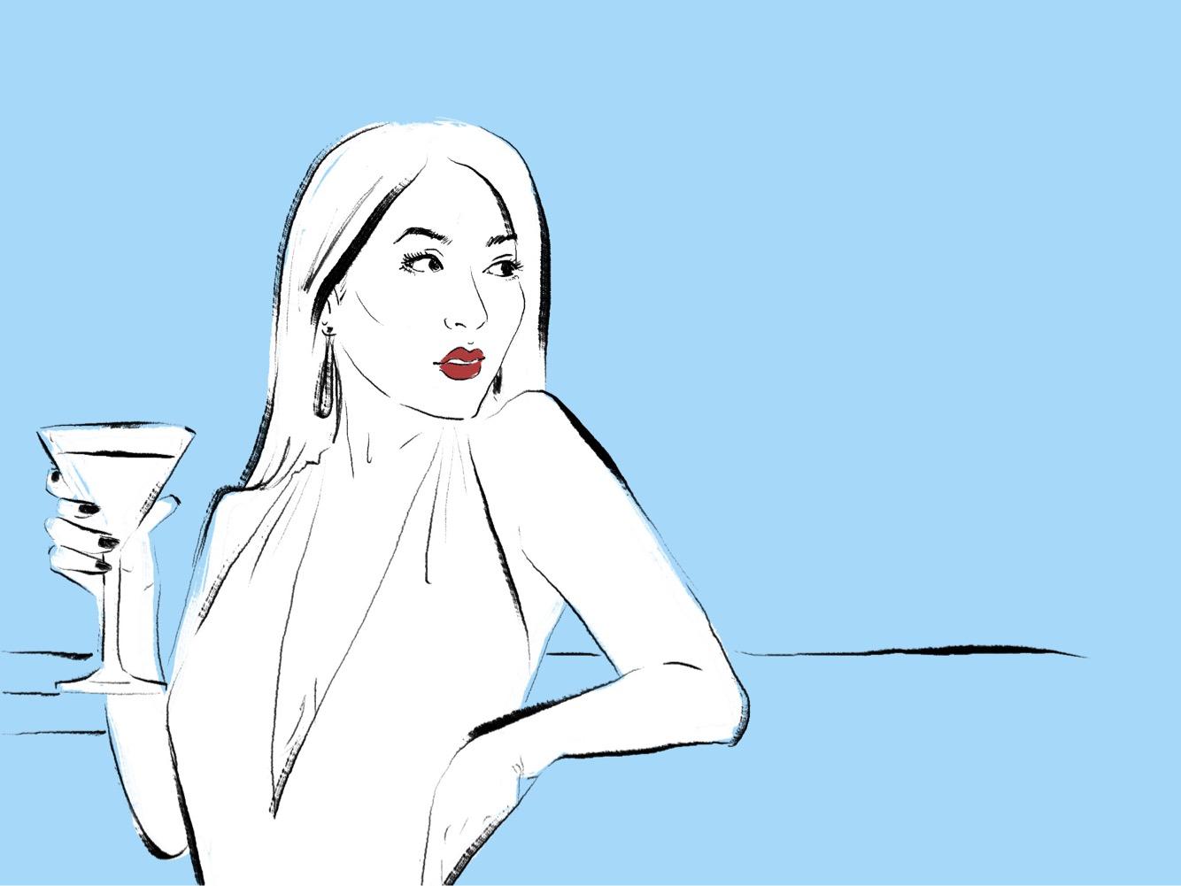 clubbing woman