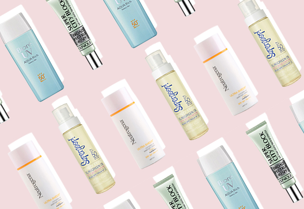 7 Non-Sticky Sunscreens You Need in Your Vanity Now