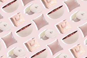 millennial pink space