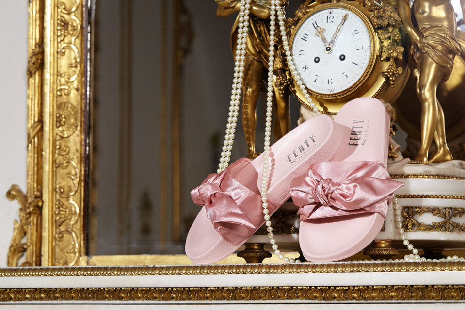 c420092be29 Rihanna s Shoe Collab Is All About Green and Blush Pink - Preen.ph