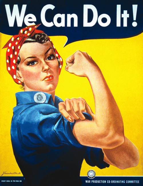 'We Can Do It!' by J. Howard Miller