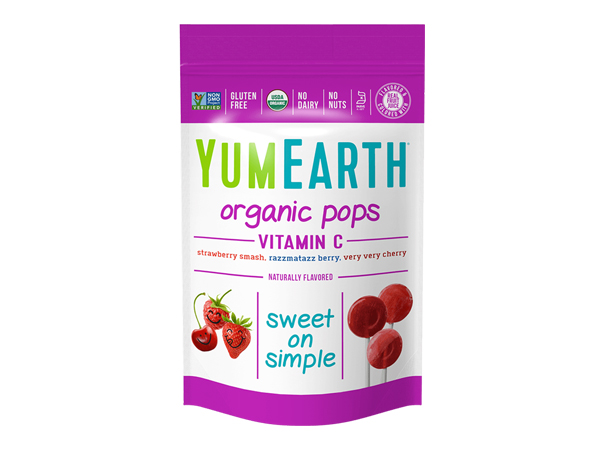 YumEarth Organic Vitamin C Pops
