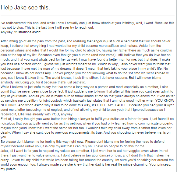 andi letter to jake
