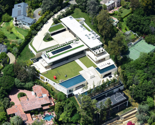 beyonce jay-z new mansion_bel air 1
