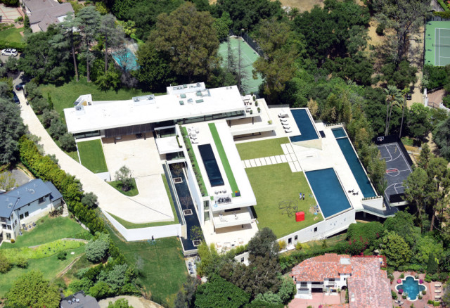 beyonce jay-z new mansion_bel air 3
