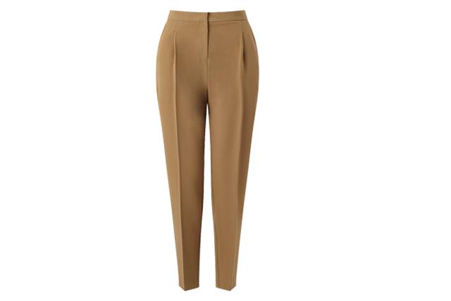 camelflage miss selfridge peg leg trousers