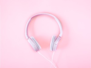pink headsets