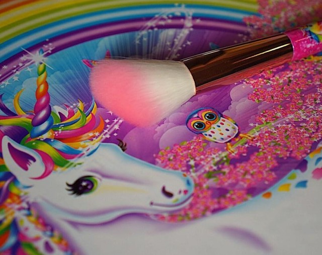 lisa frank unicorn brush 1