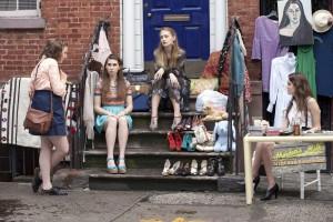 nyc stoop girls