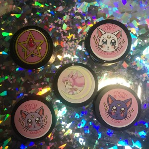 sailor moon highlighters_tooth and nail cosmetics