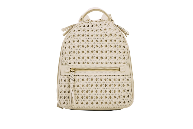 zara braided backpack