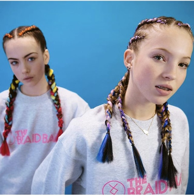 Selfridges' Braid Bar Comes Under Fire for Lila Moss Campaign Images