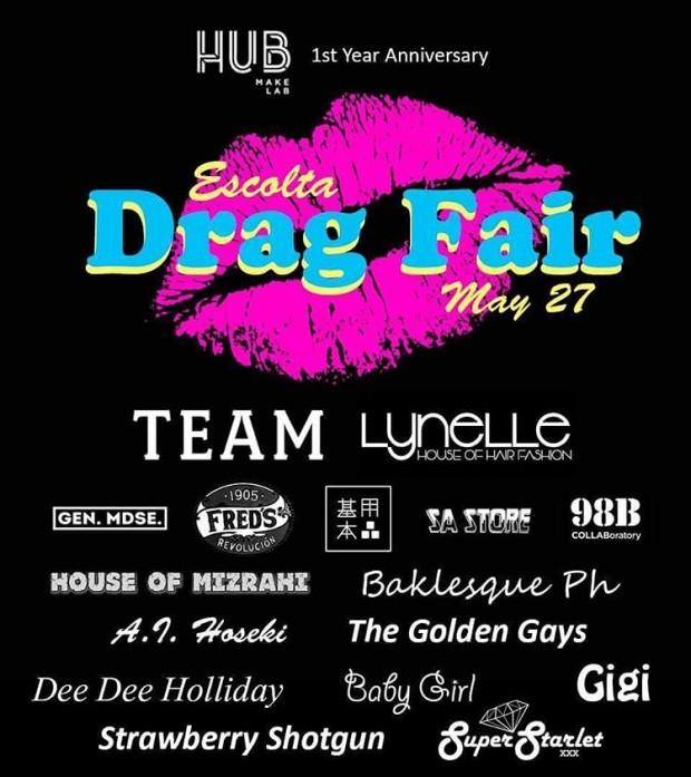 escolta drag fair